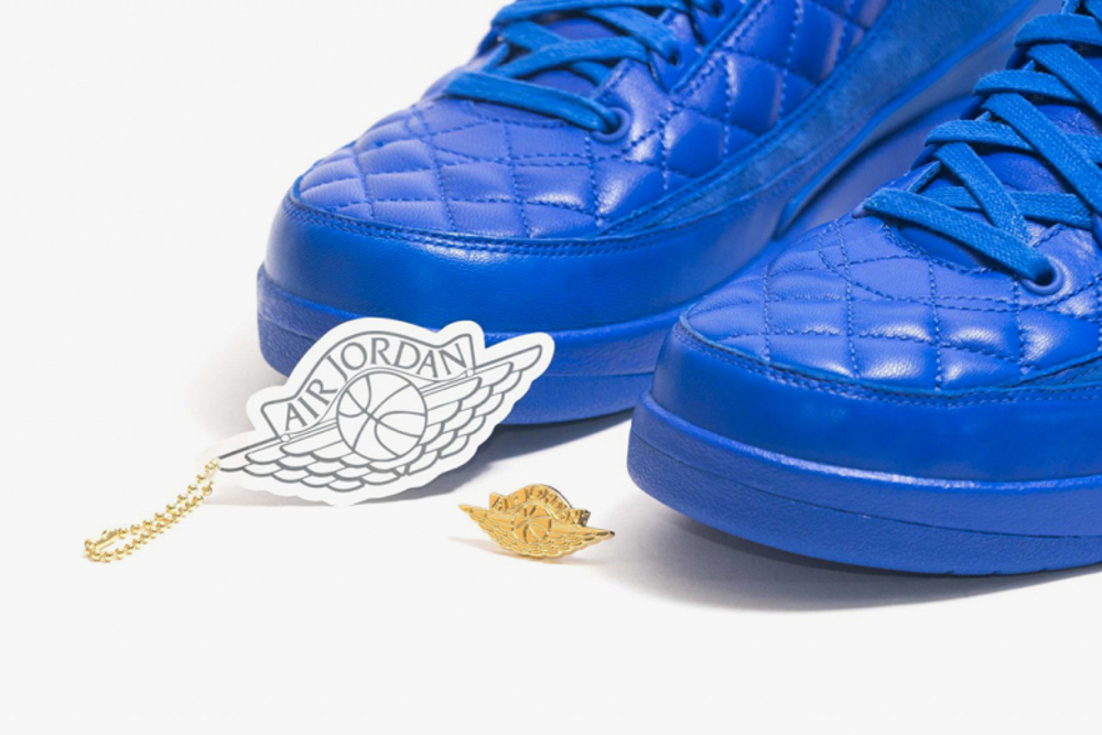 Air Jordan 2 Just Don (cuir matelasse) (4)