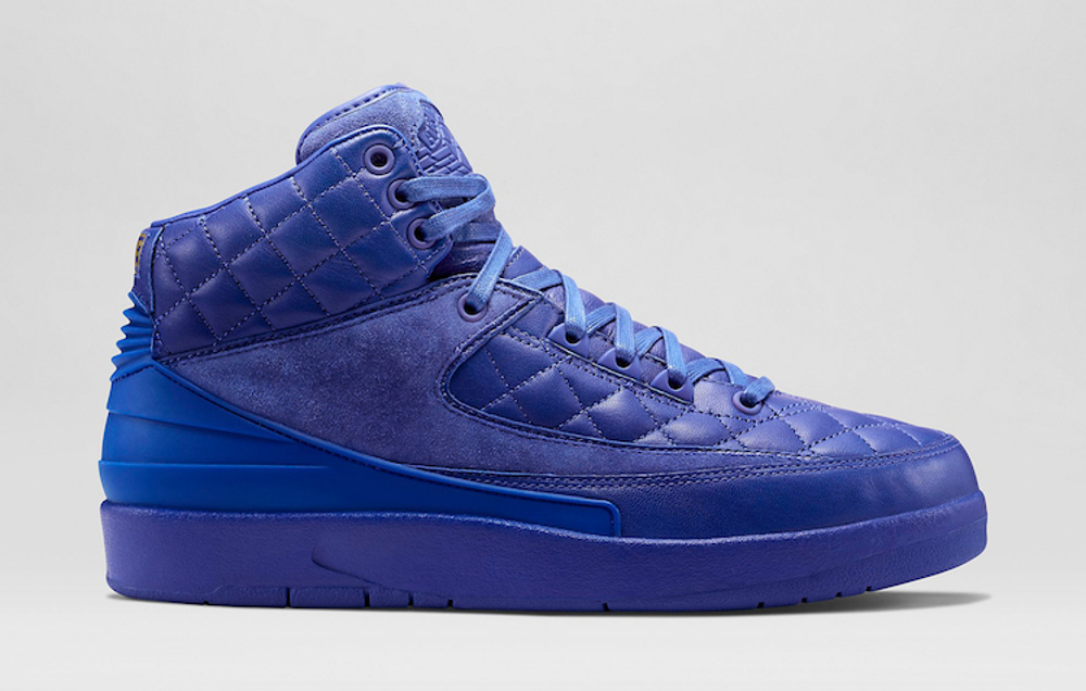 Air Jordan 2 Just Don (cuir matelasse) (7)