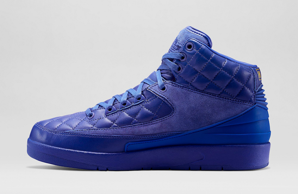 Air Jordan 2 Just Don (cuir matelasse) (8)