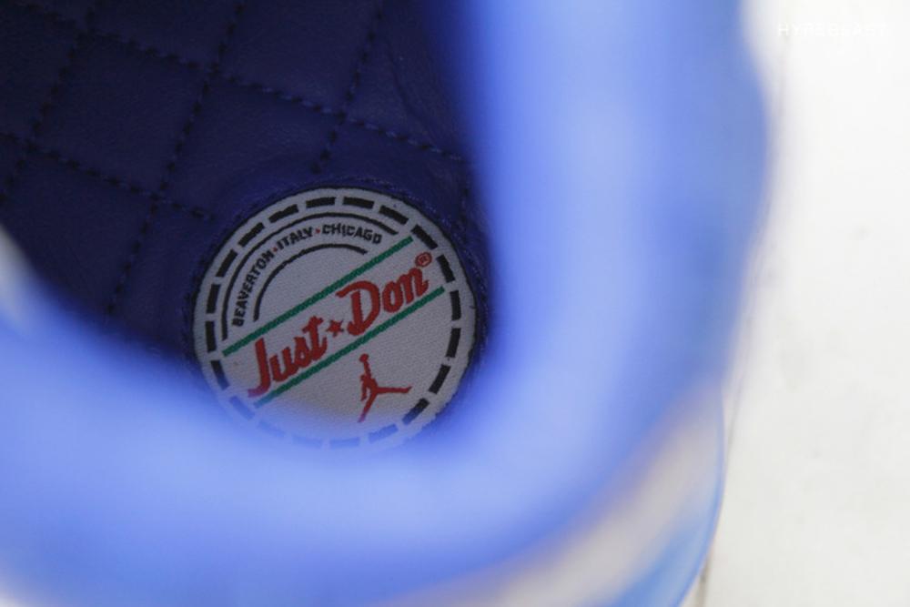 Air Jordan 2 Luxe Just Don aux pieds (2)