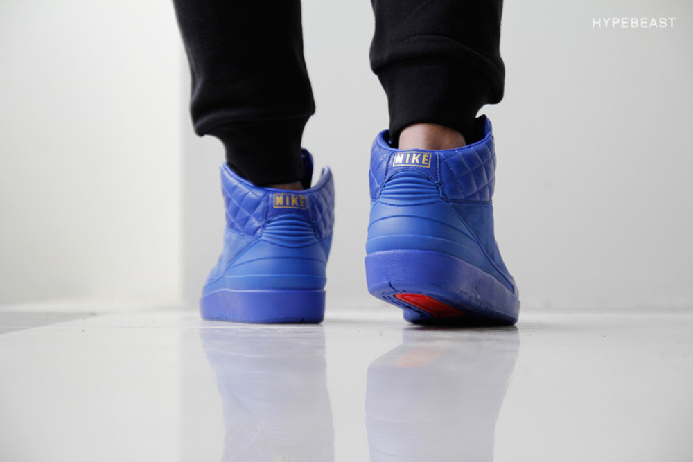 Air Jordan 2 Luxe Just Don aux pieds (5)
