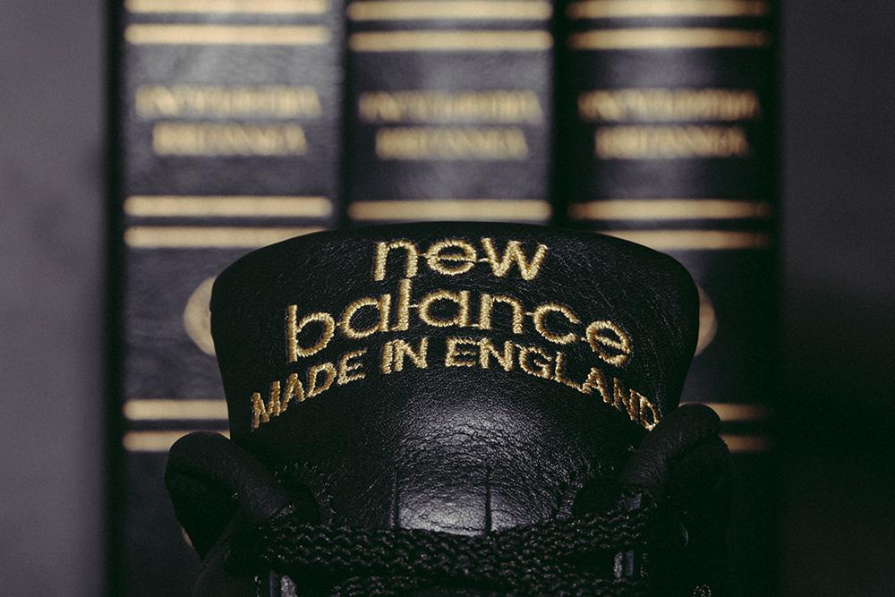 New Balance 1500 x Footpatrol 'Encyclopaedia' (noir et or) (4)
