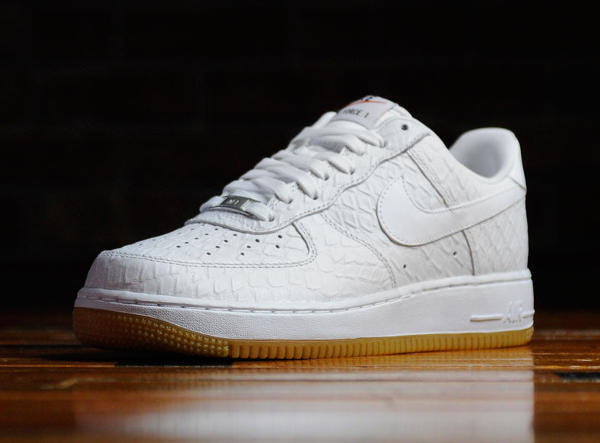 finest selection 7dfca 0158a Nike Air Force 1 Low  07 LV8 Python White Gum (2)