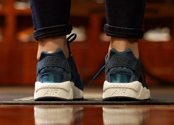 Nike Air Huarache 'Blue Force' (femme) (2)