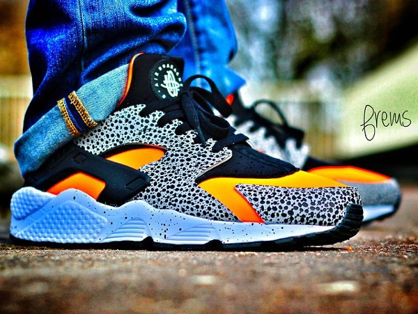Nike Air Huarache ID Safari , Frems,1