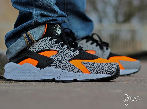 Nike Air Huarache ID Safari , Frems
