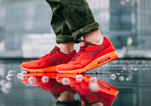 Nike Air Max 1 Ultra Moire Gym Red (2)
