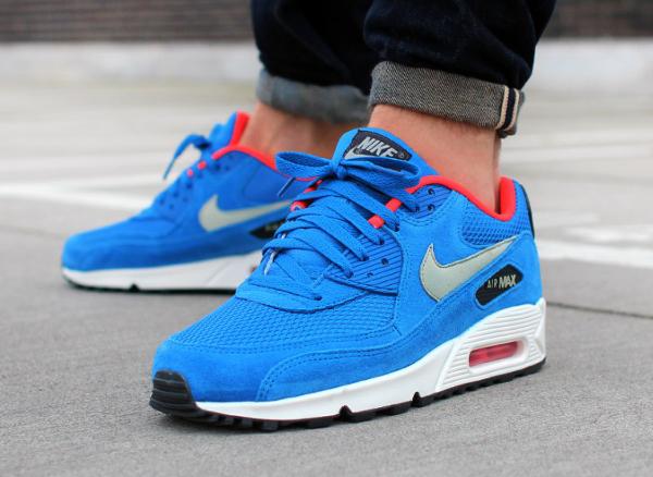 Nike Air Max 90 Essential Electric Blue (1)