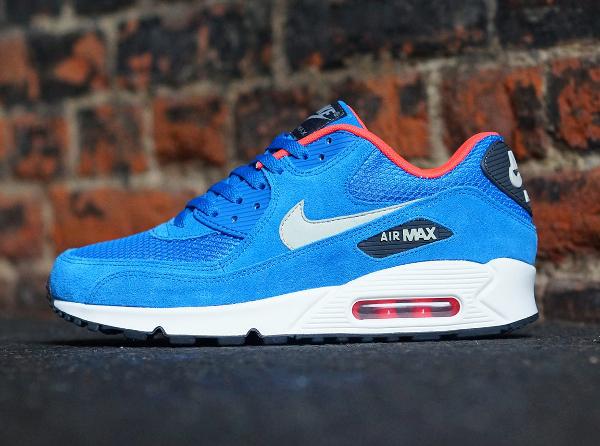 Nike Air Max 90 Essential Electric Blue (5)
