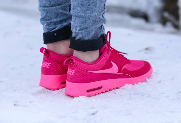 nike air max thea in pink