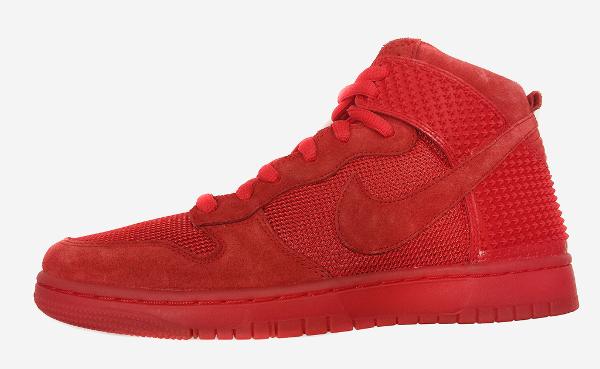 Nike Dunk High CMFT Red October