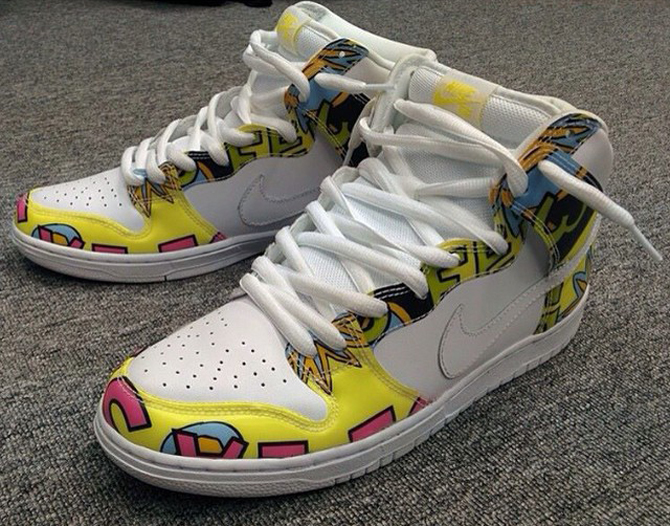 Nike Dunk High De La Soul - stashholdings
