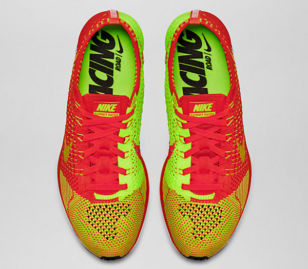 79606d5b88124 ... coupon for nike flyknit racer bright crimson volt 13392 da5bd