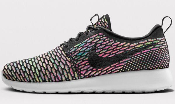 Nike Flyknit Roshe Run ID Multicolor