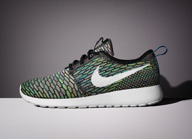 Nike Flyknit Roshe Run Multicolor