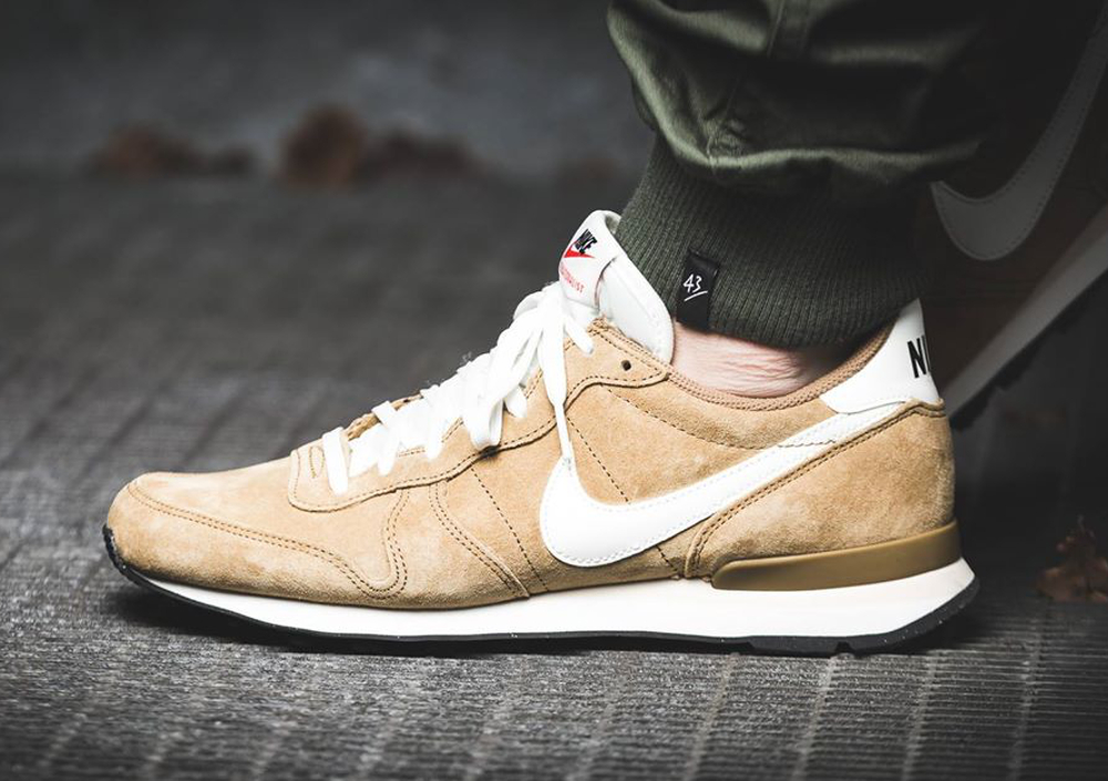 Nike Internationalist Leather Golden Tan (daim de porc) (6)