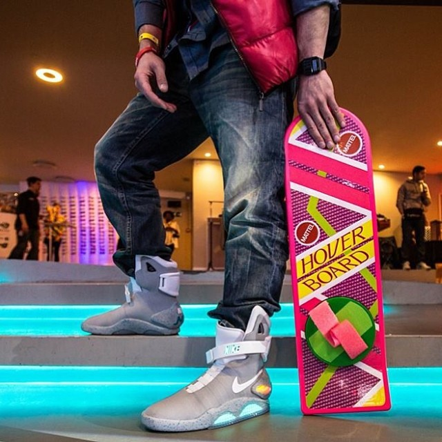 Nike Mag + overboard