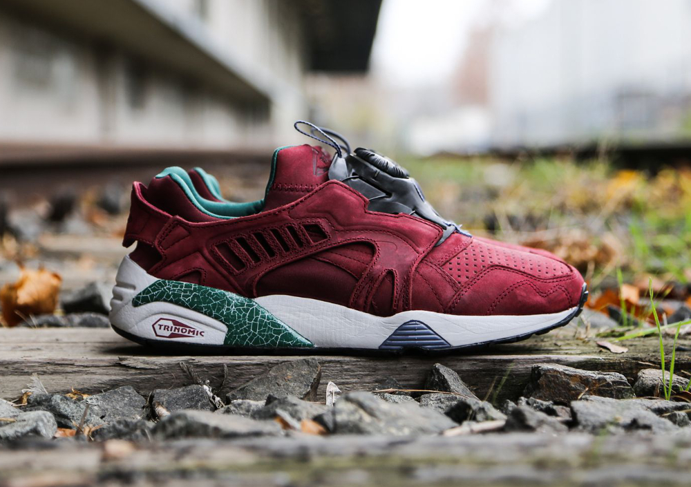 Puma Disc Blaze 'Crackle' (Bordeaux) (1)