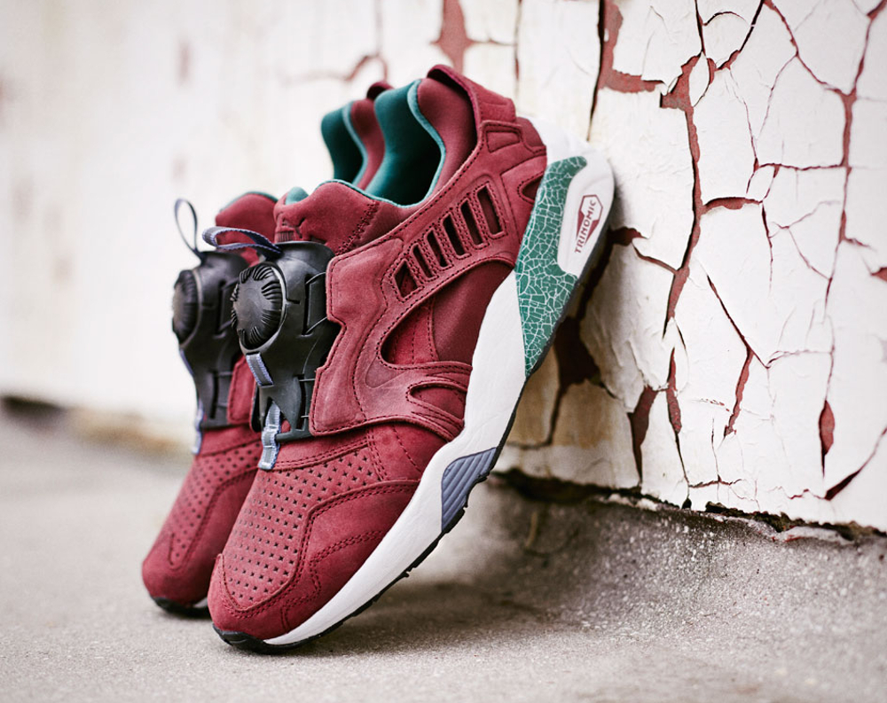Puma Disc Blaze 'Crackle' (Bordeaux) (2)