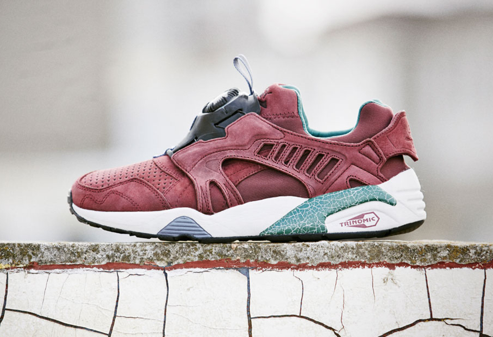 Puma Disc Blaze 'Crackle' (Bordeaux) (3)