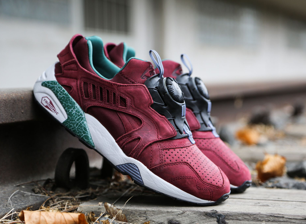 Puma Disc Blaze 'Crackle' (Bordeaux) (4)