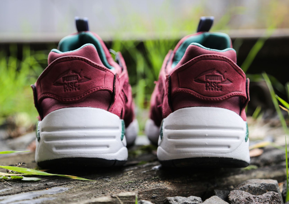 Puma Disc Blaze 'Crackle' (Bordeaux) (5)