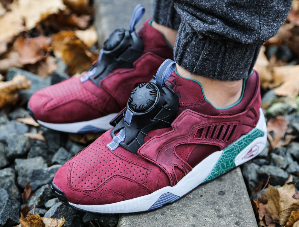 puma disc bordeaux