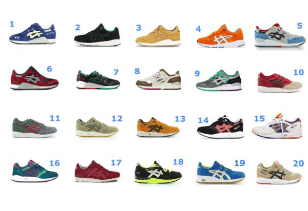 15 sneakers Asics en soldes (été 2016)