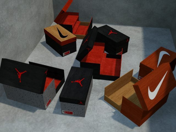 Nike Armoire A Nike boite Chaussure qCUxaBE