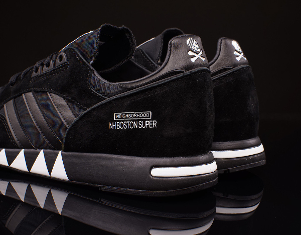 Adidas Boston Super x Neighborhood 'Black' (noir) (4)