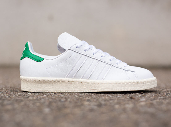 Adidas Campus 80's x Nigo 'Stan Smith' (White Green) (2)