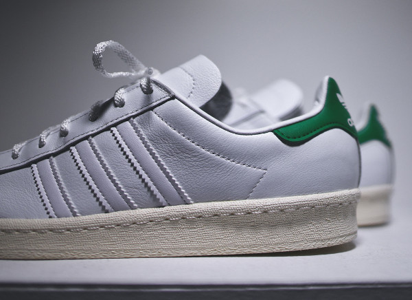 Adidas Campus 80's x Nigo 'Stan Smith' (White Green) (6)