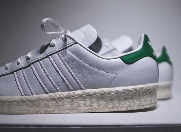 Adidas Campus 80's x Nigo 'Stan Smith' (White Green) (6)