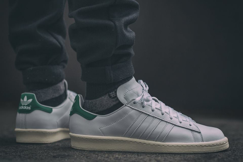 Adidas Campus 80's x Nigo 'Stan Smith' (White Green) aux pieds