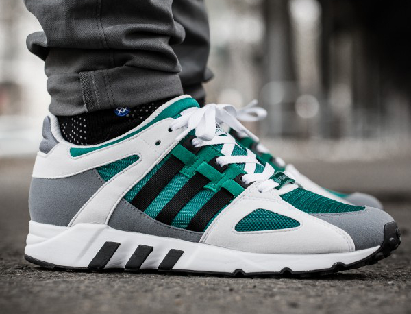 Adidas EQT Guidance 93 Core Black Sub Green (7)