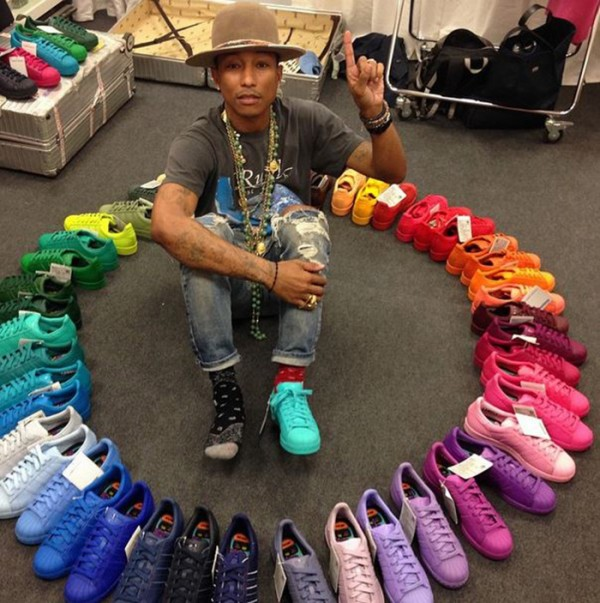 Adidas Superstar x Pharrell Williams 'Super C'