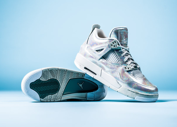 Air Jordan 4 GS Pearl Iridescent (irisée) (1)