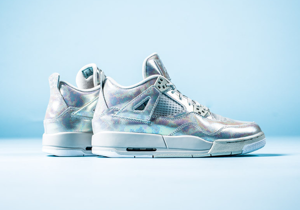 Air Jordan 4 GS Pearl Iridescent (irisée) (2)