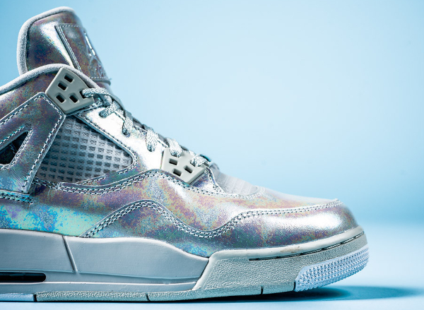 Air Jordan 4 GS Pearl Iridescent (irisée) (3)