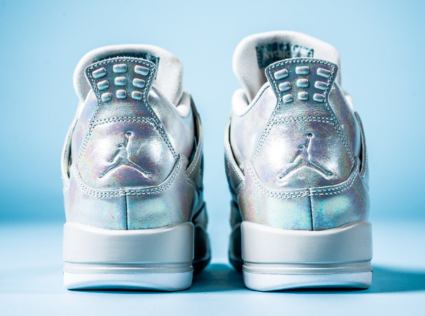 Air Jordan 4 GS Pearl Iridescent (irisée) (4)