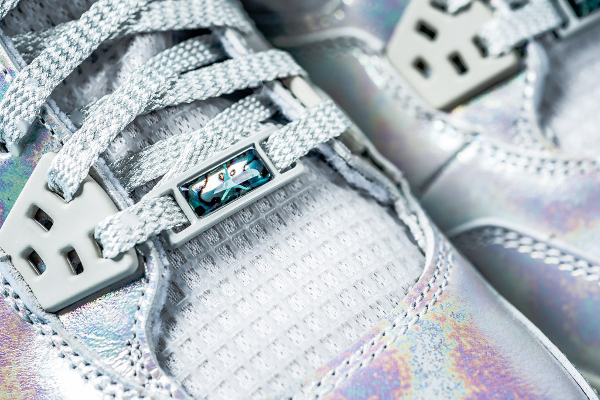 Air Jordan 4 GS Pearl Iridescent (irisée) (6)