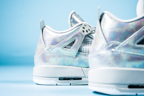 Air Jordan 4 GS Pearl Iridescent (irisée) (9)