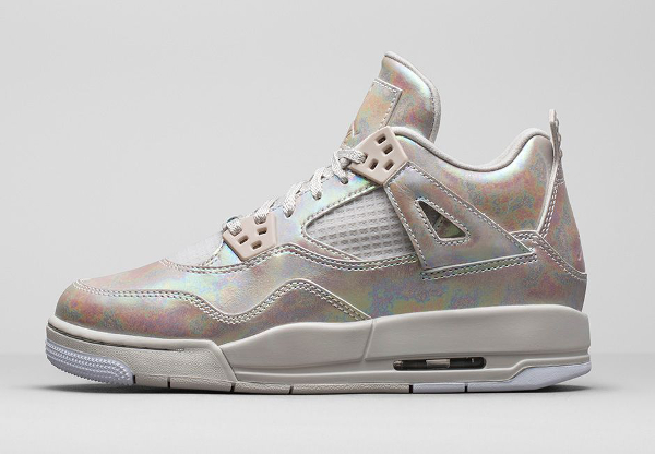 Air Jordan 4 GS Pearl Iridescent (irisée) photo officielle (3)