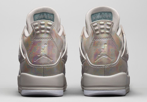 Air Jordan 4 GS Pearl Iridescent (irisée) photo officielle (5)