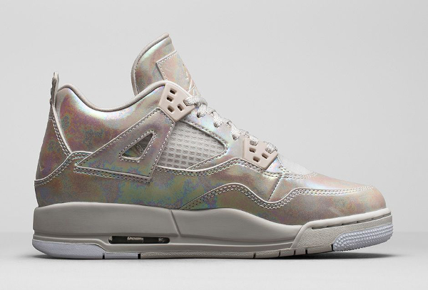 Air Jordan 4 GS Pearl Iridescent (irisée) photo officielle (6)