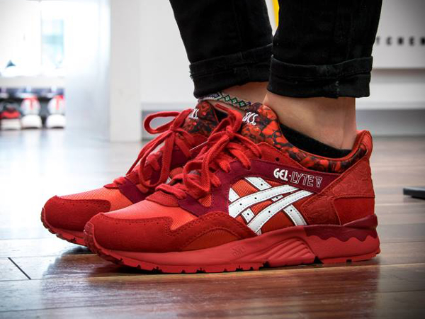 asics rouge gel lyte
