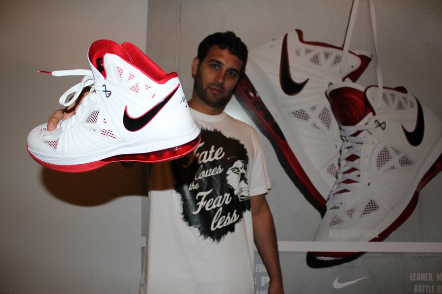 Jason Petrie designer Nike Lebron