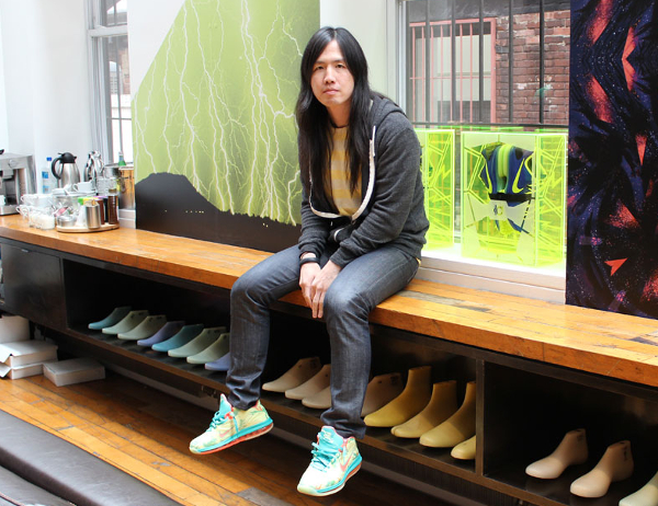 Leo Chang créateur Nike KD