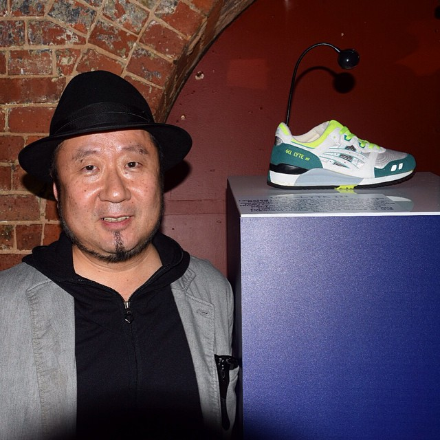 Mitsui San crreateur asics gel lyte 3