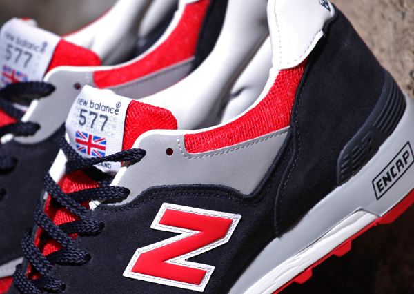 New Balance 577 'Navy/Red' (Made in England)